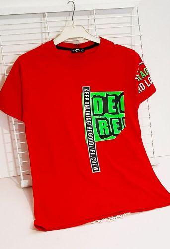 Футболка De.re. Красный