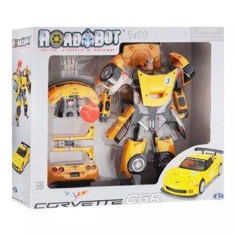 Робот-трансформер - CHEVROLET CORVETTE C6R