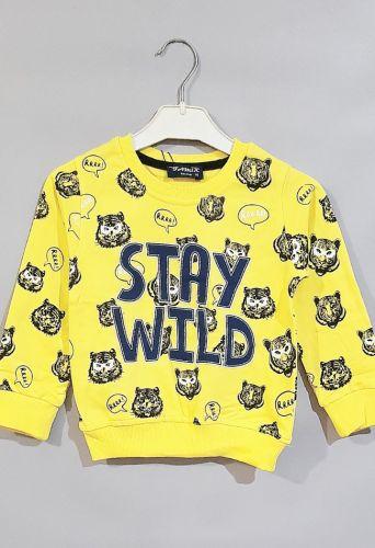 Джемпер Stay Wild Желтый