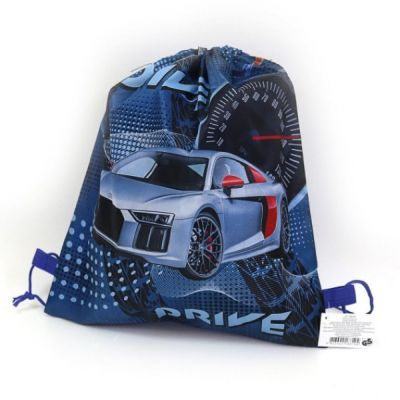 Мешок рюкзак для обуви Синий