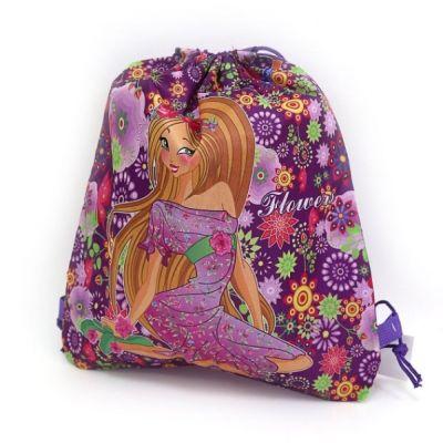 Мешок сумка для обуви Лиловый