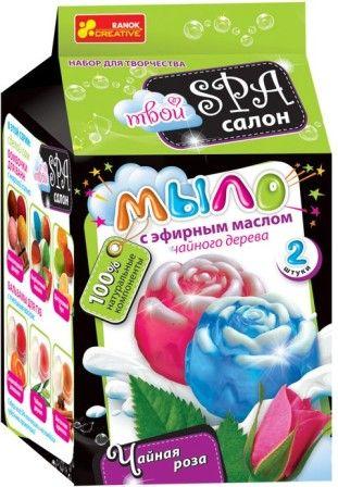 Набор Мыло своими руками Чайная роза