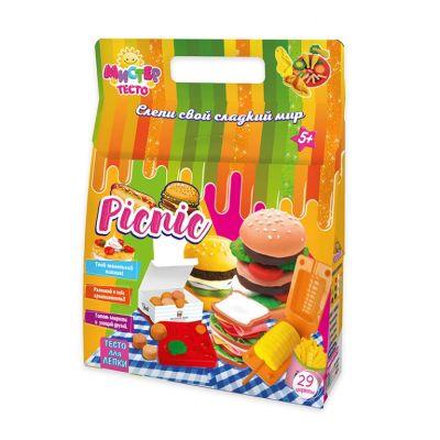 Набор для лепки Мистер тесто  picnic