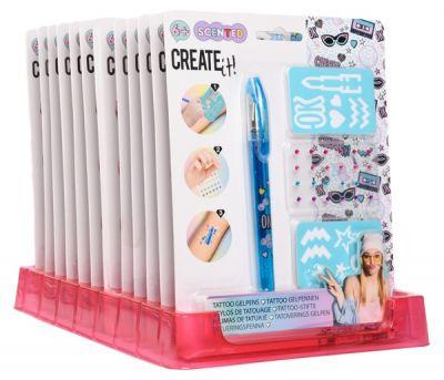 Ароматный детский набор для тату girl CREATE IT