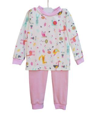 Пижама Зверюшки, пироженое Розовый