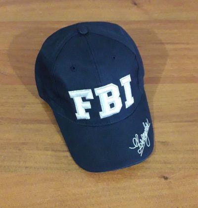 Бейсболка FBI Синий