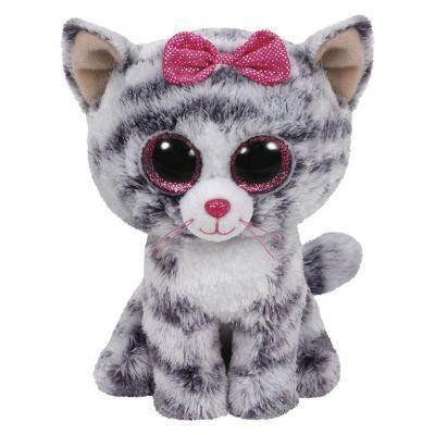 TY игрушка мягконабивная Котенок Kiki 50см
