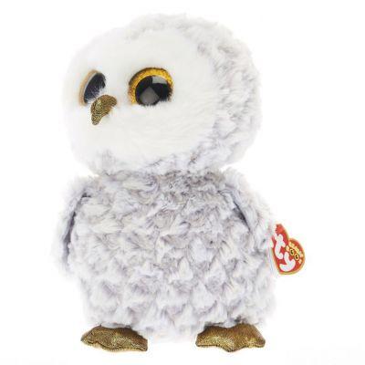 TY игрушка мягконабивная Белая сова Owlette 50см