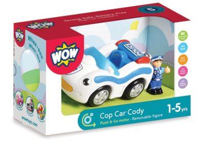 Полицейский автомобиль WOW TOYS
