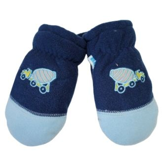 Варежки Tutu флис Голубой