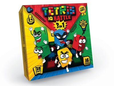 Развлекательная гра Tetris IQ battle 3in1