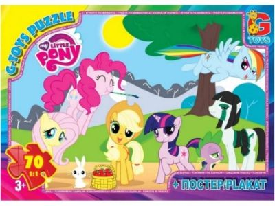 Пазлы My little PONY 70 эл
