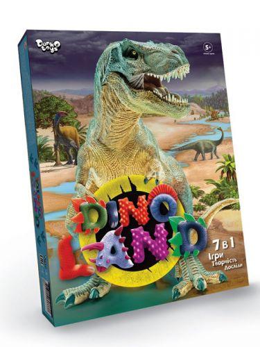 Креативное  творчество Dino Land 7 в 1 укр