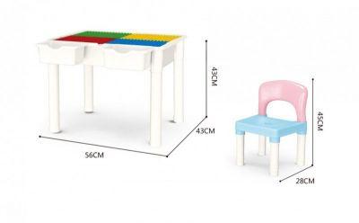 Конструктор столик,стул
