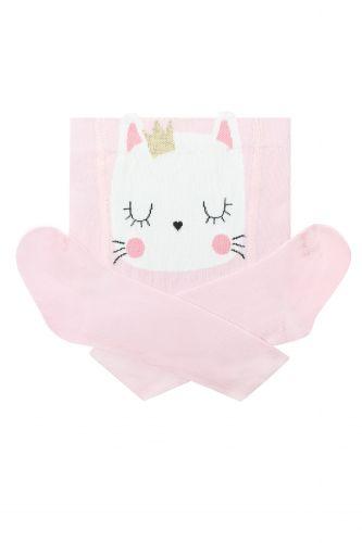 Колготы Под памперс кошка р68 Розовый