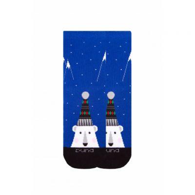 Носки зимние махровые Синий