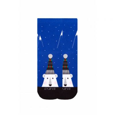 Носки зимние махровые р16 Синий