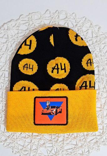 Шапка  А4 Желтый