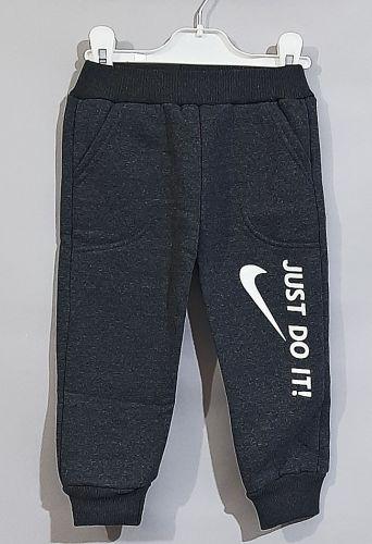 Спортивные брюки, начес Серый темный