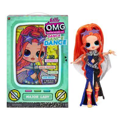 Набор с куклой LOL SURPRISE серии OMG Dance ЛЕДИ КРУТЫШКА