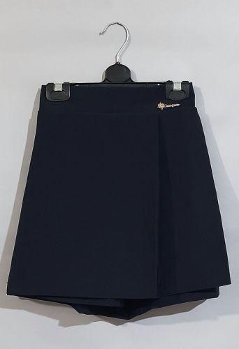 Юбка шорты Синий темный