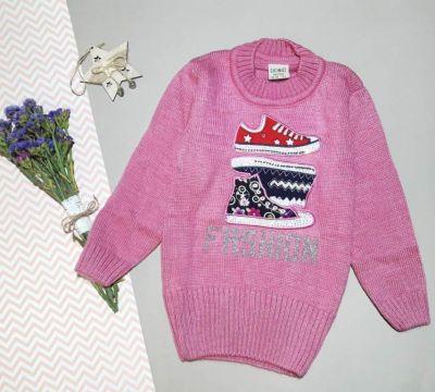 Свитер Модные кроссовки Розовый