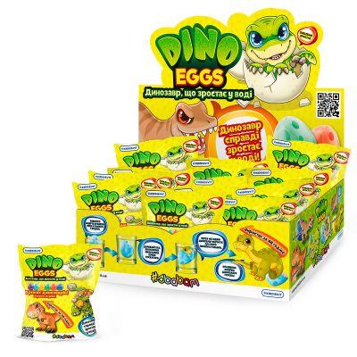 Игрушка растущая в яйце Dino Eggs ДИНОЗАВРЫ