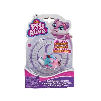 Интерактивная мягкая игрушка PETS ALIVE хомячок
