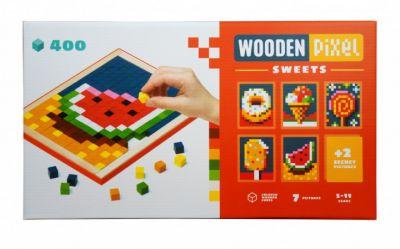 Мозаика Wooden pixel 6