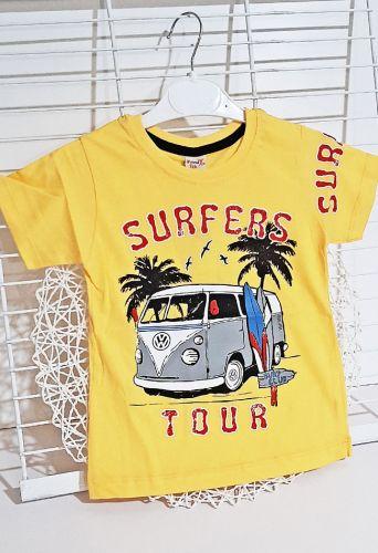 Футболка Surfers tour Желтый