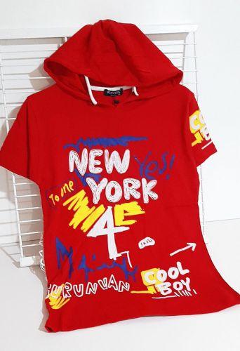 Футболка New York yes! Красный