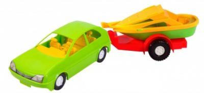 Авто-купе с прицепом