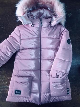 Куртка Блеск Светло-розовый