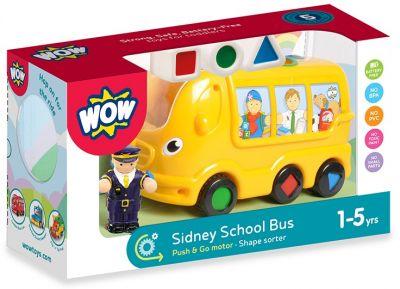 Школьный автобус Сидней WOW TOYS
