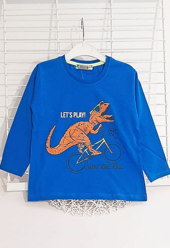 Джемпер Динозавр Синий