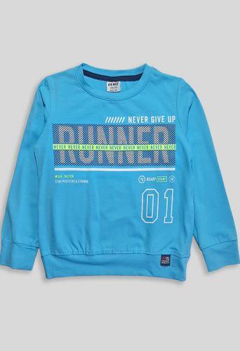 Джемпер Runner Голубой