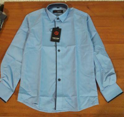 Рубашка Классика, вставка Серый темный