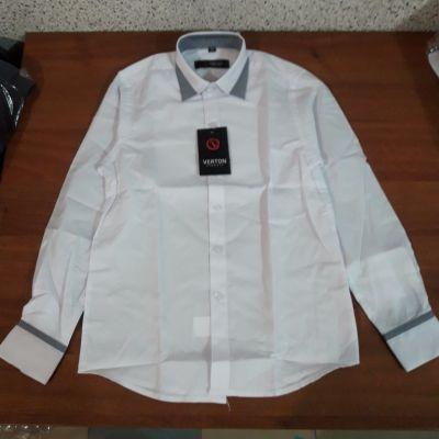Рубашка Классика, вставка Белый