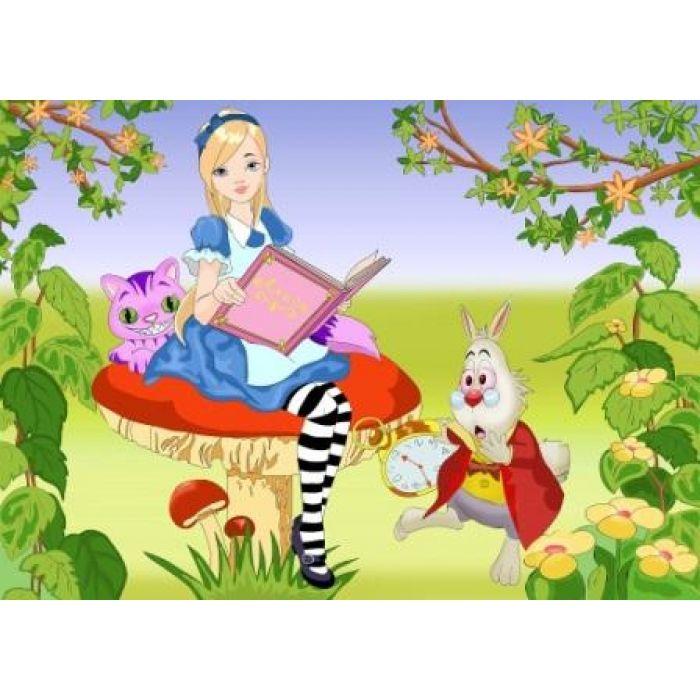 Роспись по холсте Мечты Алисы