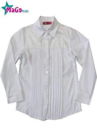 Блуза Ажур Акция Белый