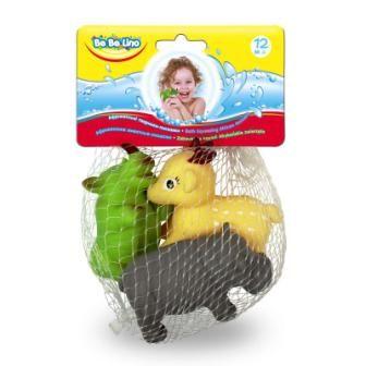Животные пищалки для ванной