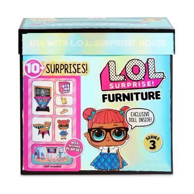 Игровой набор с куклой LOL SURPRISE серии Furniture S2 КЛАСС умница