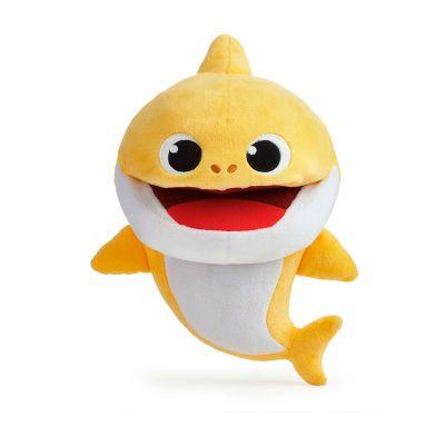 Интерактивная мягкая игрушка на руку BABY SHARK МАЛЫШ АКУЛЕНЯТКО