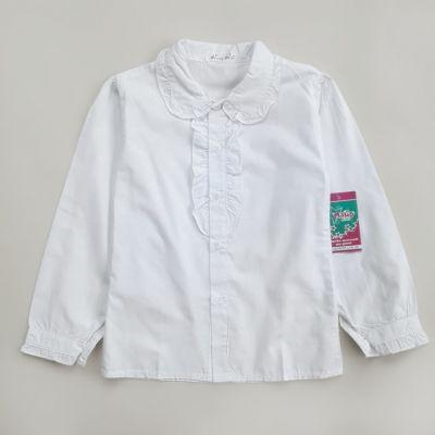 Блуза длинный рукав  АКЦИЯ Белый