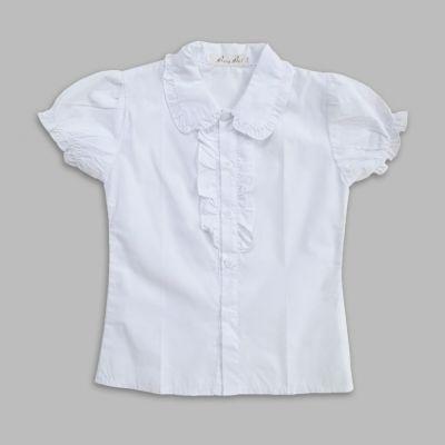 Блуза короткий рукав АКЦИЯ Белый