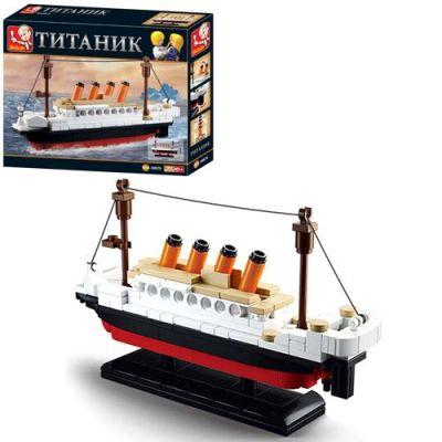 Конструктор SLUBAN Titanic 194 дет