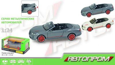 Машина металл АВТОПРОМ Bentley