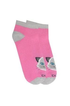 Носки Котик короткие Розовый