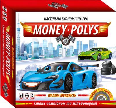 Настольная игра Money Polys Бешеная скорость
