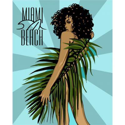 Роспись по номерам Miami Beach